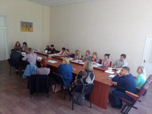 Методичне об'єднання керівників гуртків гуманітарно-науково-технічного відділу