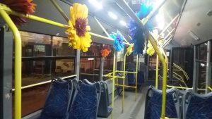 Прикрашений троллейбус