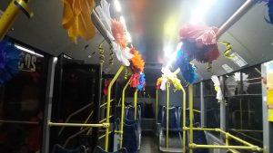 Прикрашення троллейбусу