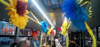 Яскраві троллейбусні маршрути у Слов'янську