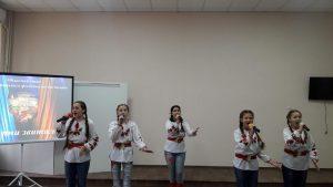 Народний вокальний ансамбль Червона калина на Сурмах звитяги