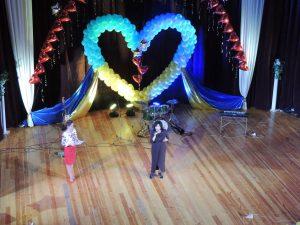 Оксенчук Н.В. на Гала-концерті З Україною в серці у м. Маріуполь