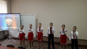 Вокальний ансамбль Домісолька Сурми звитяги обласний етап