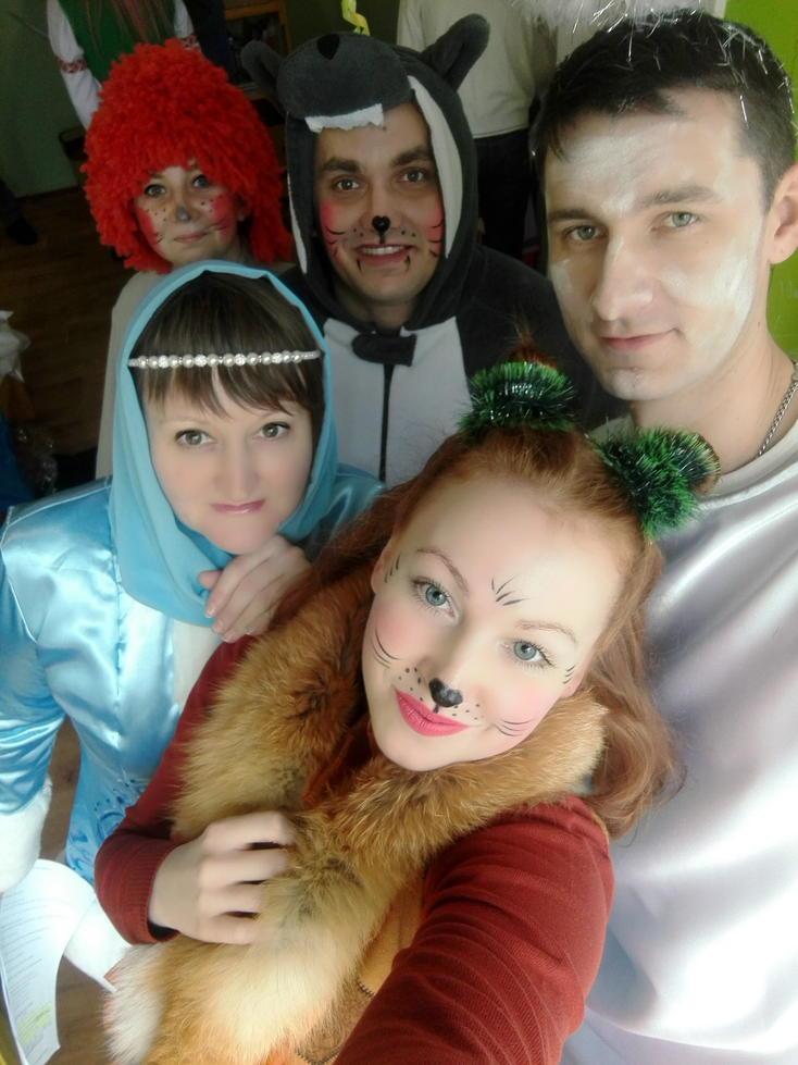 Донецький ОПДЮТ привітав дітей у Майорську зі святом Святого Миколая