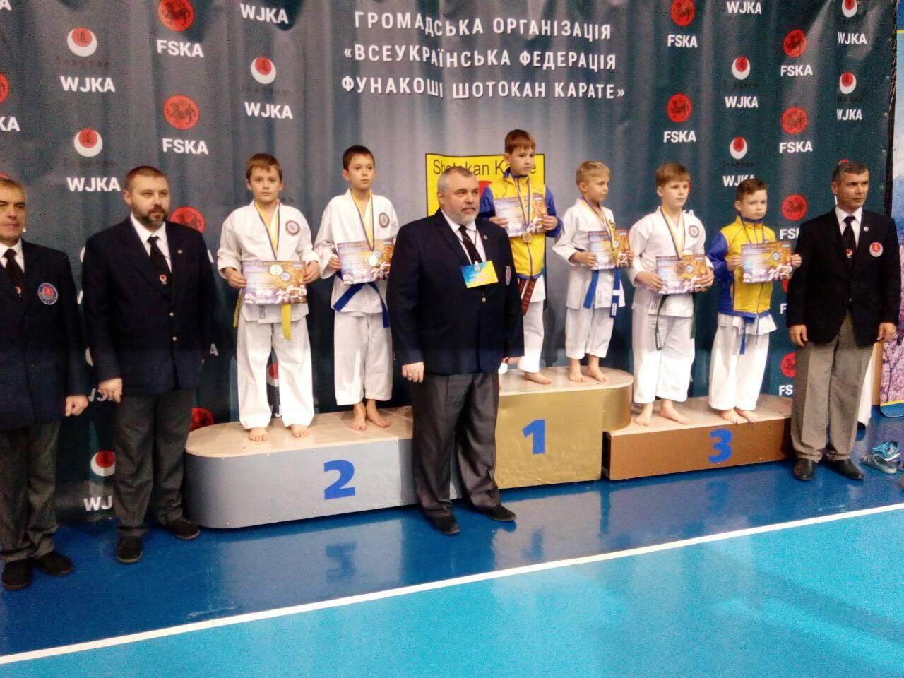 Переможці Чемпіонату України «Ukraine Open – 2017» з карате-джицу-3