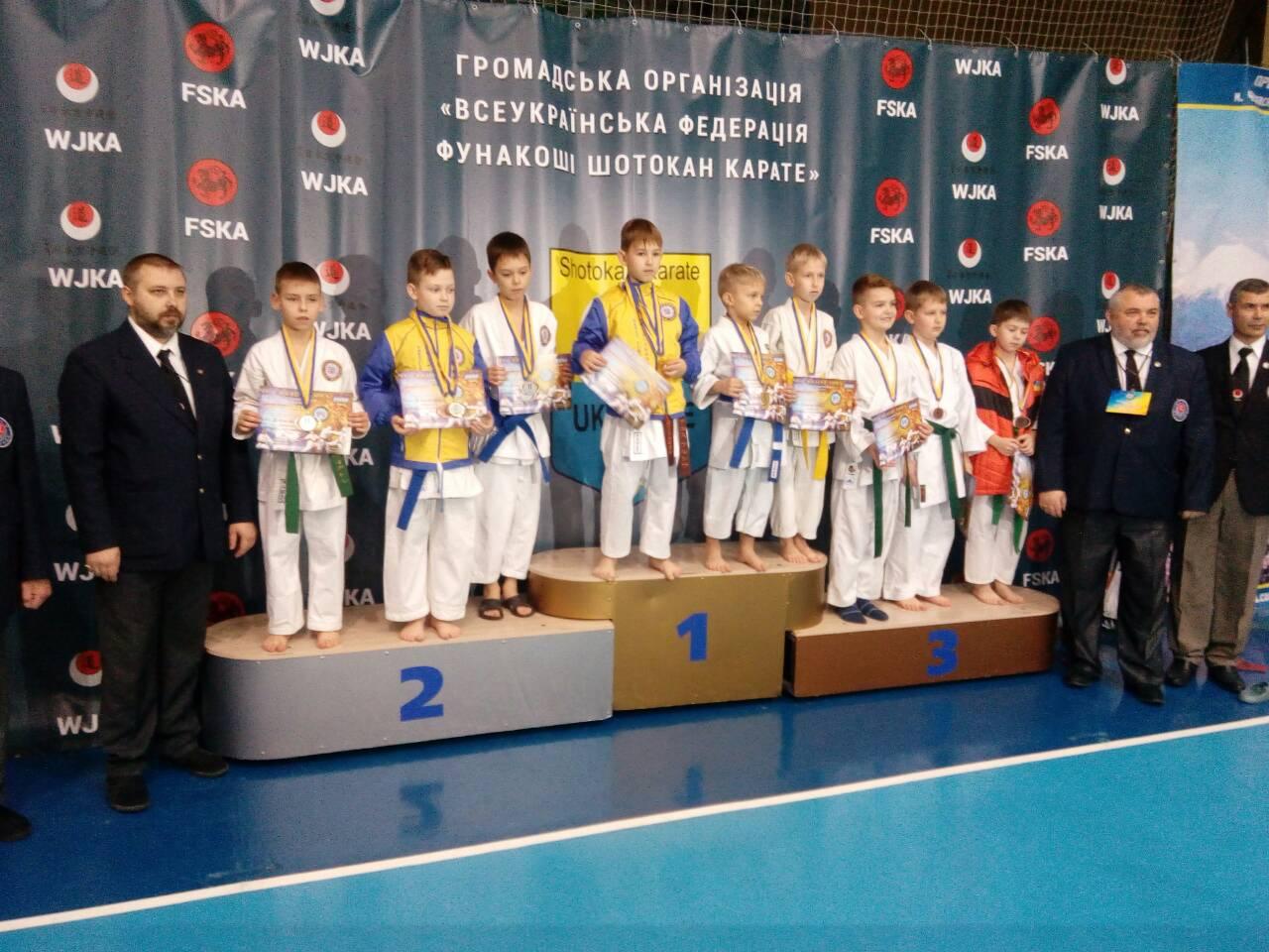 Переможці Чемпіонату України «Ukraine Open – 2017» з карате-джицу