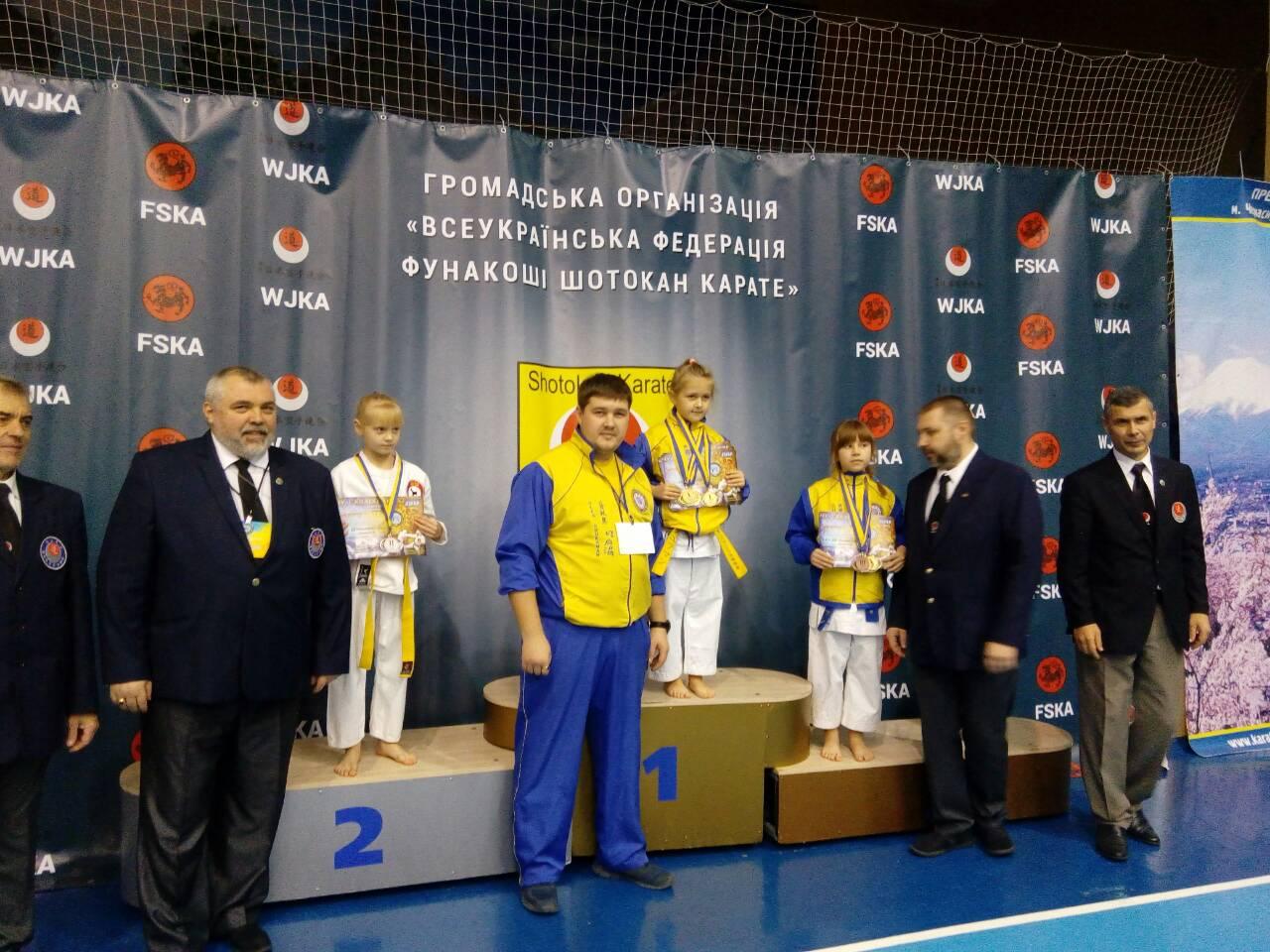 Переможці Чемпіонату України «Ukraine Open – 2017» з карате-джицу-7