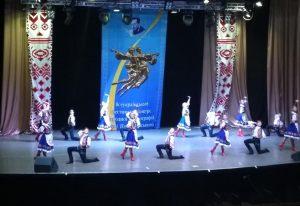 Виступ ансамблю ''Усмішка'' на фестивалі ім. П.Вирського (м. Київ)