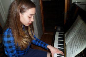 відкрите заняття гуртка «Фортепіано»