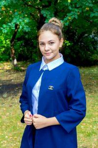 Хайрулліна Дар'я - Заступник Голови обласної ради лідерів учнівського самоврядування