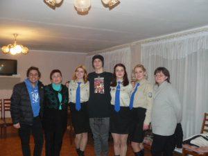 Зустріч з лідерами учнівського самоврядування міста Калуш