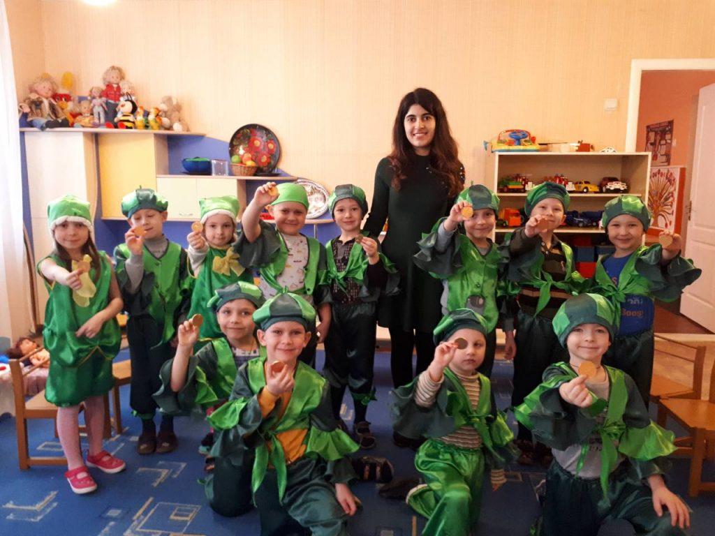 Saint Patrick's Day у дитячому садочку