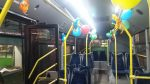 Прикрашений тролейбус до Дня Матері
