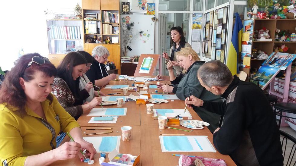 Семінар-практикум з образотворчого мистецтва м. Маріуполь