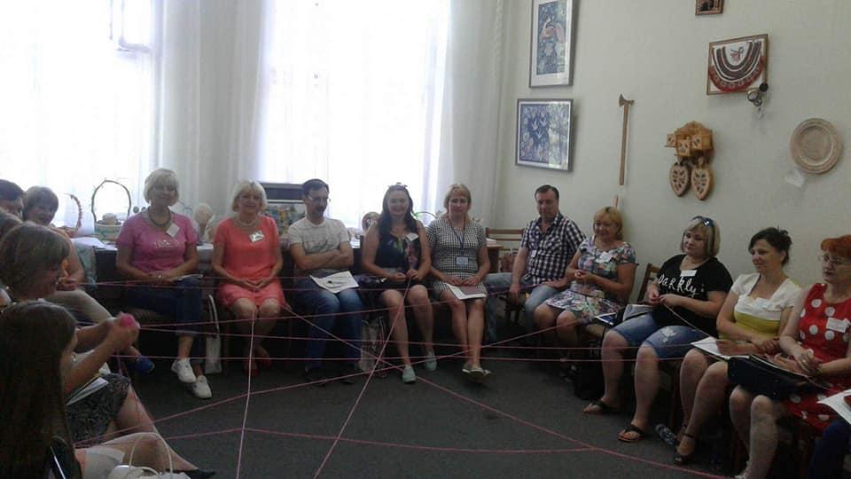 Тренінг з патріотичного виховання «З Україною в серці» м. Київ