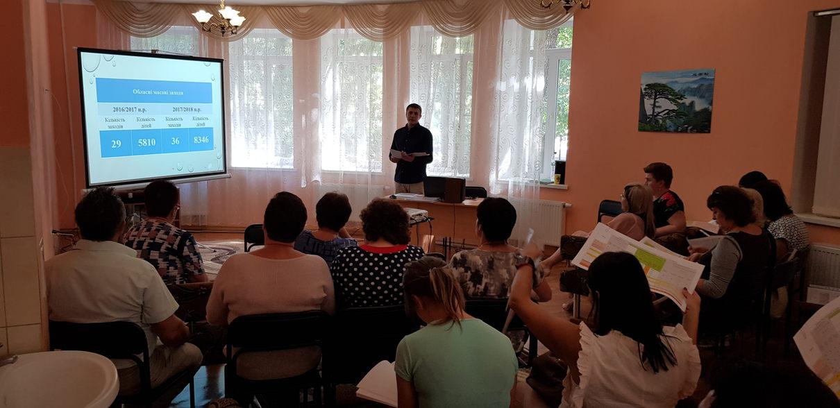 завідувач відділу масових заходів та організації дозвілля П.Г.Гордієнко