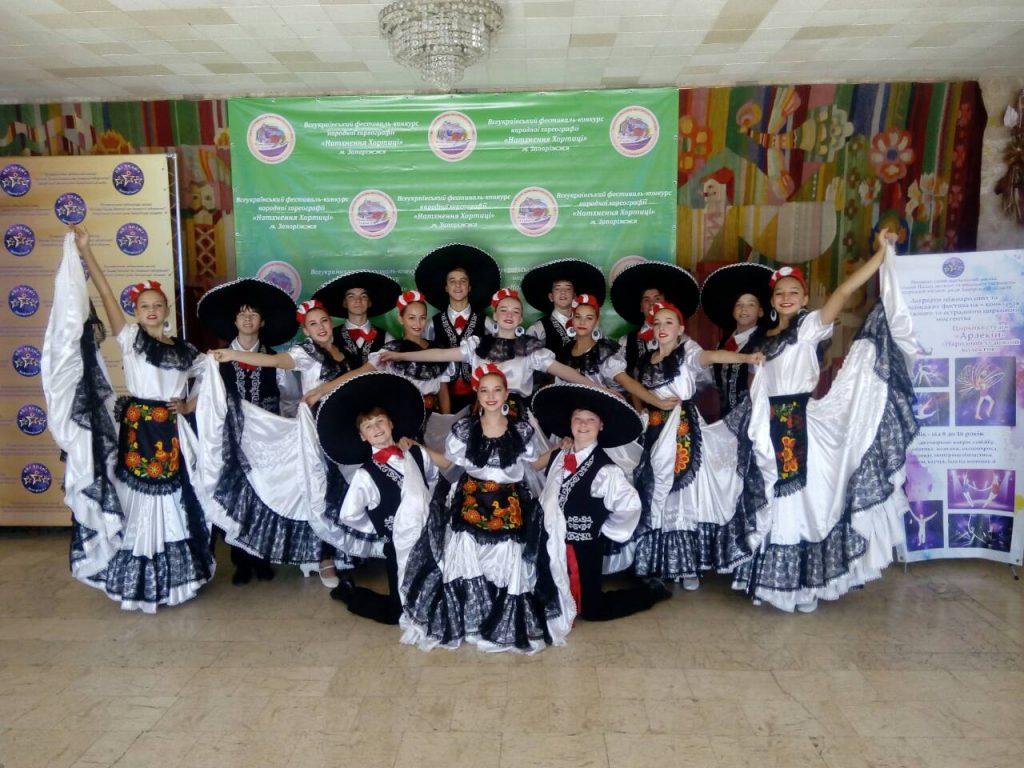 ІV Всеукраїнський фестиваль –конкурс народної хореографії «Натхнення Хортиці»