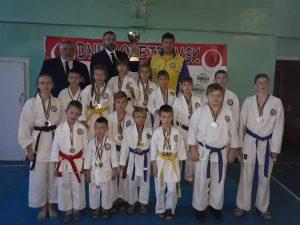 Переможці Відкритого Кубку Дніпропетровської області з карате FSKA і WJKA