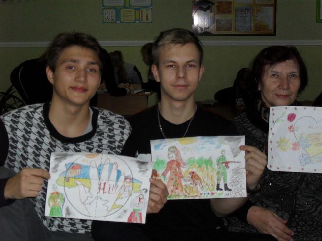 Акція «Дякую захиснику!» Гурток «Українська мова»