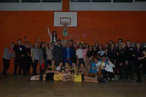Всесвітній день студента у гуртку «Волейбол»