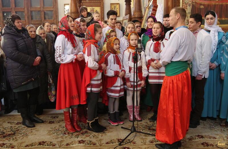 Фестиваль колядок у Свято-Успенській Святогірській Лаврі.