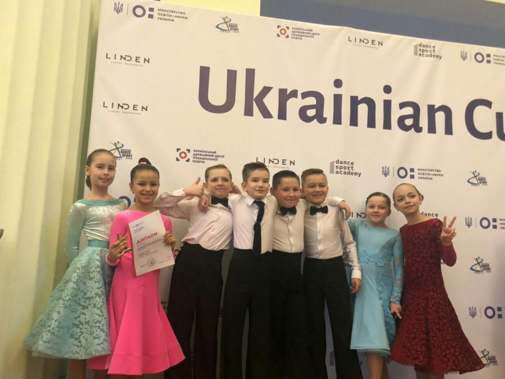 Всеукраїнські змагання зі спортивного танцю «UKRAINE CUP 2019»