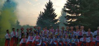 Флешмоб до Дня Незалежності «Україна назавжди»