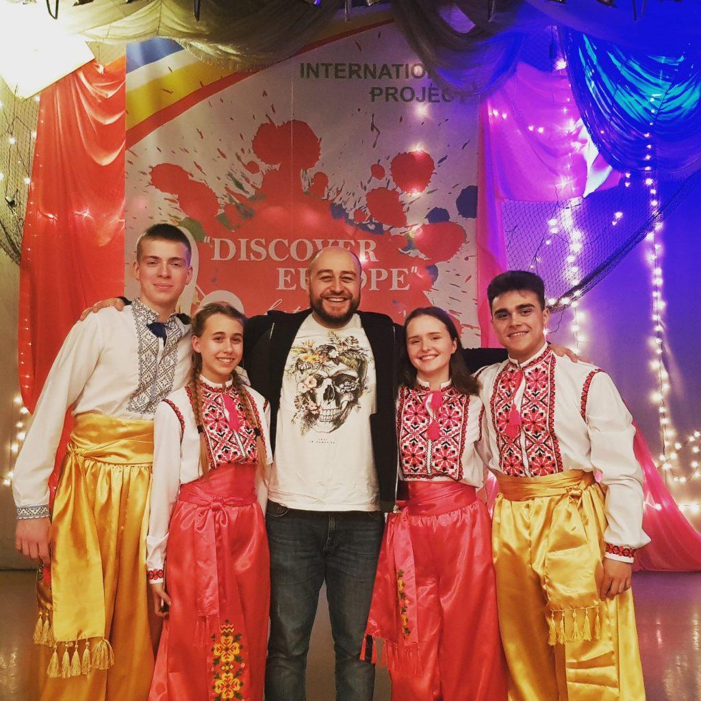 Вихованці «Театральної школи» на «DISCOVER EUROPA»