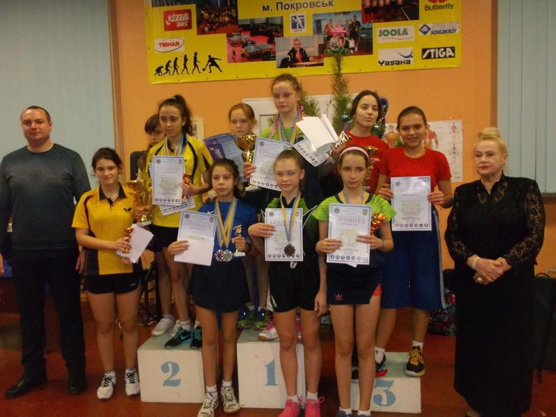 Всеукраїнський турнір з настільного тенісу
