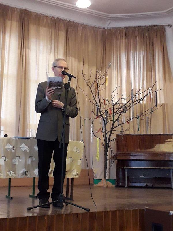 Зустріч з сучасним поетом рідного краю