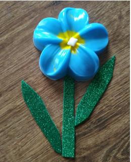 Виготовлення квіточки з мила